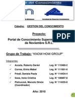 Proyecto Portal de Conocimiento (Final)