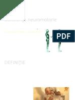 Deficienţa neuromotorie