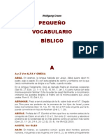 Diccionario Biblico - Gruen Wolfgang