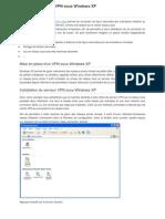 Installer Un Serveur VPN Sous Windows XP