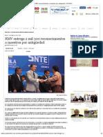 15-05-2012 RMV entrega 2 mil 300 reconocimientos a maestros por antigüedad - pueblaonline.com.mx