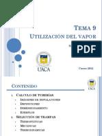 Tema 9 Utilización del vapor