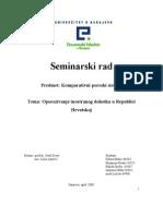 KPS - Oporezivanje Inostranog Dohotka u Republici Hrvatskoj - Seminar Ski