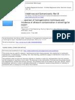 -Comparison of Homogenization Techniques And