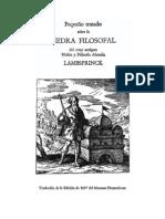 pequeño tratado sobre la piedra filosofal (con imagenes) - lambsprinck