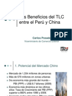 Beneficios de Tlc Peru China