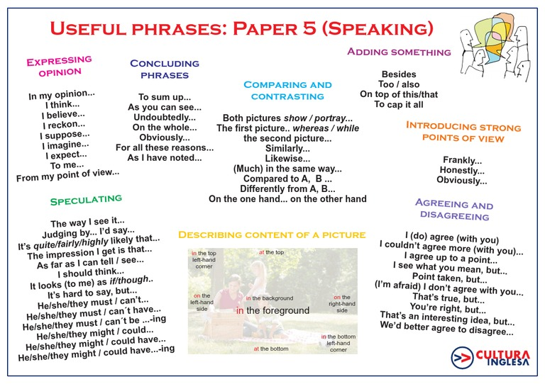 Useful phrases opinion essay