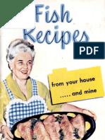 Fish Recipes Cookbook 1952