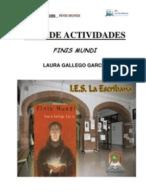 Descargar Libro Gratis Pdf Finis Mundi Laura Gallego Guia De Actividades De Finis Mundi Lectura Proceso Ciencia