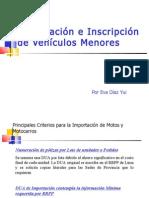 Inscripción de Vehículos Menores