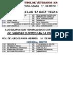 Veter j14-Master j14 Copa 2012