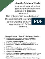 Evangelization the Modern World