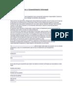 Contrato Terapéutico y Consentimiento Informado adultos