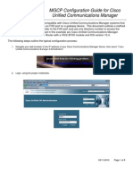 Cisco UCM-FXO-MGCP Configuration Guide