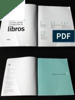 creacion  diseño de libros