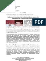 Boletín 035_La Secretaría Departamental de Salud del Cauca celebra Día Internacional del Profesional de Enfermería