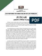JUZGAR Campaña 2012