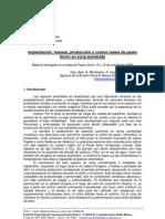 Implantación, manejo, producción y costos reales de pasto