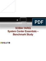 System Center Essentials Benchmark Study