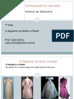O Despertar Da Moda No Brasil