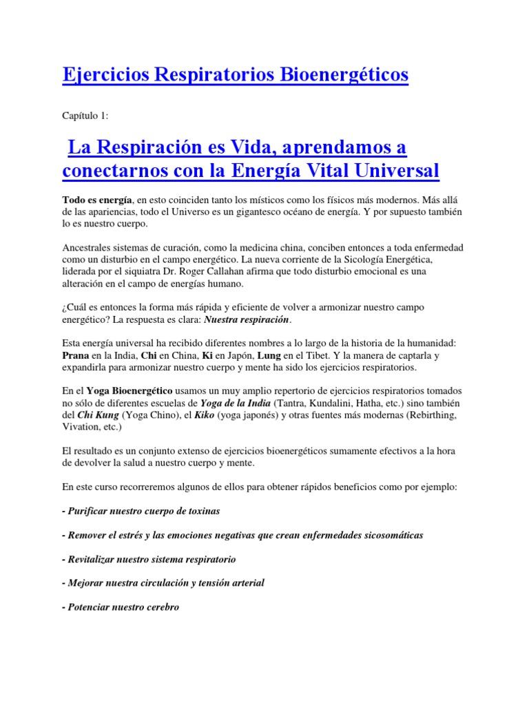 Ejercicios Respiratorios Bioenergéticos 28568bca44d8