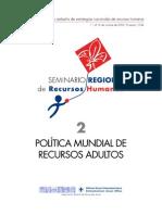 POLITICA MUNDIAL RRAA