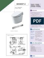 Toilet Bowl Toto TX303BN