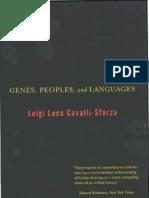 Luigi Luca Cavalli-Sforza Genes, Peoples and Languages 2001
