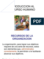 1 Introduccion Al Recurso Humano