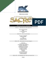 Solucion Sacred