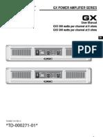 GX User Manual en RevA