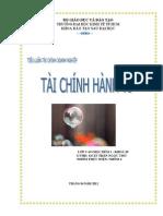 Tai Chinh Hanh Vi - Behavior Finance