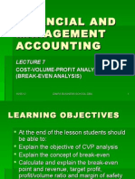 Financial and Management Accounting l7