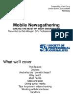 Mobile News Gathering SPJ-Phoenix