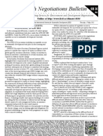 Earth Negotiations Bulletin - summary of May 16th 2012