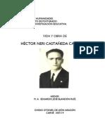 Vida y Obra de Hector Nery Castañeda