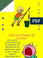 PAUTAS DE CRIANZA
