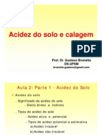Aula 2-Acidez e Calagem Do Solo