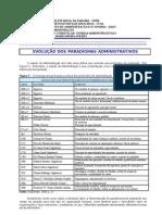 Texto 3 - Evolução dos Paradigmas Administrativos