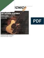 Construye Tu Guitarra Electrica