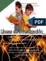 Actividad  2 LÍNEAS DE INVESTIGACIÓN