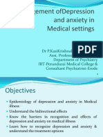 Depression and Anxiety in Medical Setting