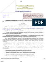 Lei de Acesso a Informacao(12527-2011)