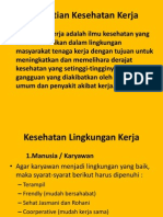4.Kesehatan kerja