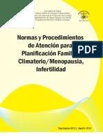 Manual Normas y Procedimientos Planificacion Familiar 2010[1]
