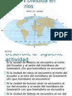 La Tierra Dividida en Hemisferios