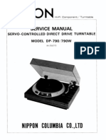 Denon DP-755 Service Manual