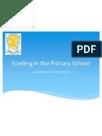 spelling program 2012 presentation