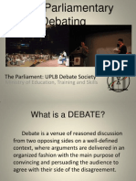 third speaker debate template