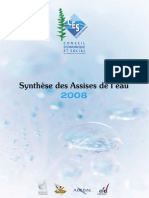 Synthèse assise de l'eau 2008